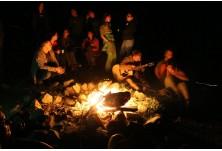 Лагерен огън. Снимка: Св. Михова