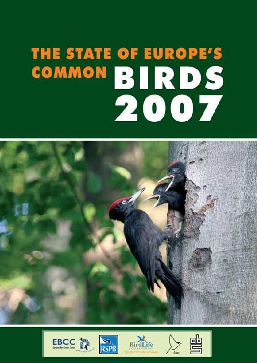 Състояние на птиците в Европа 2007 г.