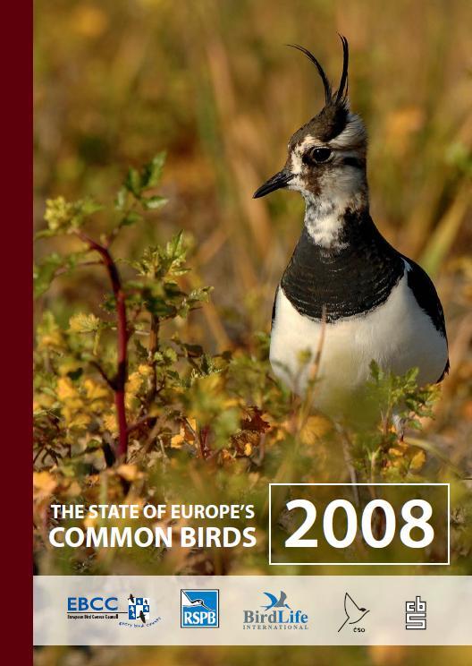 Състояние на птиците в Европа 2008 г.