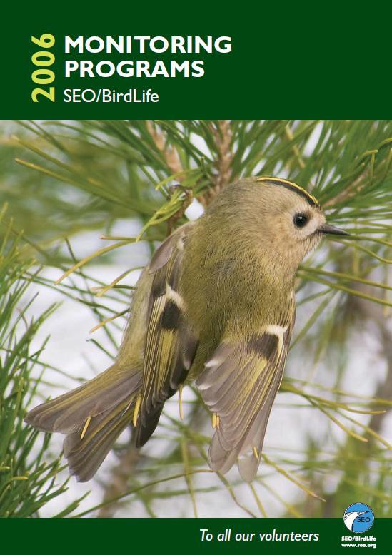Състояние на птиците в Испания 2006