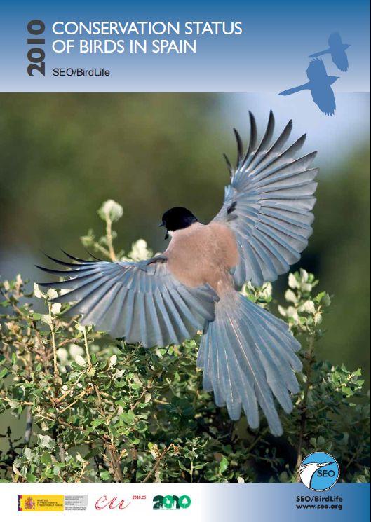 Природозащитен статус на птиците в Испания 2010
