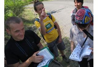 обучение по време на лагер Картали, сн: Яна Гочева
