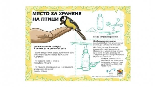 Включете се в работилница за къщички за птици в София