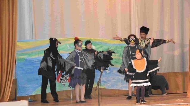 Червеногушата гъска – главен герой в ученически конкурс за театрални представления