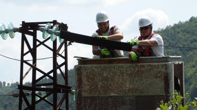 Продължава работата за обезопасяване на електрически стълбове, застрашаващи птиците в Източните Родопи