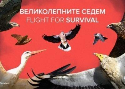 Великолепните седем – Flight for Survival