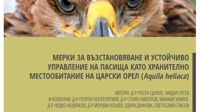 Мерки за възстановяване и устойчиво управление на пасища с цел опазване на царския орел и биоразнообразието