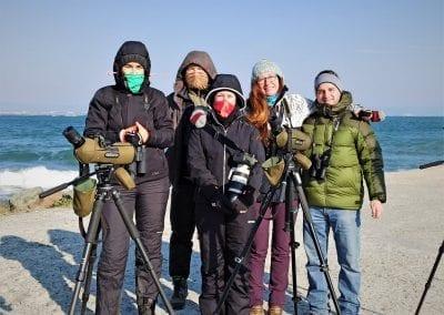 """""""Граждани за природата"""" участваха активно в Среднозимното преброяване на водолюбивите птици"""